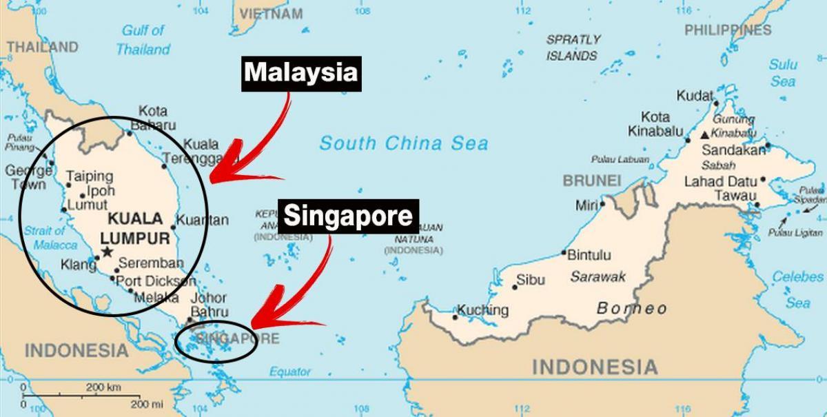 dubai mapa sveta Singapur v mapě světa   Singapur mapa světa (Republic of Singapore) dubai mapa sveta
